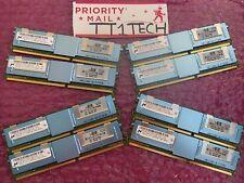 MICRON 32GB 8x4GB PC2-5300F FB DIMM DDR2 667 ECC REG MEMORY 1 YEAR WARRANTY