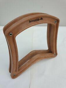 Vintage Retro Britmarine Wooden Tennis Racket Press Frame Protector Prop England