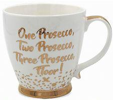 One Prosecco, Two Prosecco, Three Prosecco, Floor! - Fine China Mug in Gift Box