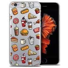 Coque Crystal Pour iPhone 6/6s Plus 5.5 Extra Fine Rigide Foodie Fast Food
