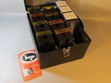 35mm Photo Slide Storage Case Wood w/11 Slide Trays 30 Capacity