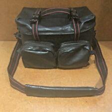 Promaster Black Camera Bag, front pockets, adjustable partitions, shoulder strap
