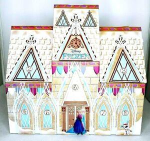 Disney Frozen Arendelle Castle Advent Christmas Countdown Kidkraft Sturdy Empty