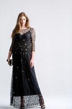 MARINA RINALDI DRESS HAND EMBROIDERY SIZE MR 23 IT 52 USA 14 SIZE PLUS