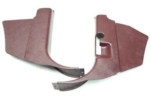95-98 Chevy Truck Interior Trim Lower Kick Panel Burgundy E9