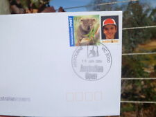 2004 Australian Open Tennis Asia Rate P-Stamp Cover 19 Jan