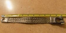 9 inch 2 gauge braided ground strap battery cable top post terminal vintage 9""