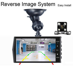 DashCam Touch Screen Car DVR V19 Dual Lens Dual Record Night Vision +32G SD Card