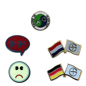 5 X Icon Pin Set Package Geocaching Pin Ftf Gift Swag Submerge
