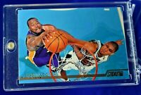 SHAQUILLE O'NEAL STADIUM CLUB DUNK OVER TIM DUNCAN LOS ANGELES LAKERS SP RARE