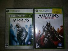 Assassin's Creed -- Platinum Hits Edition/ Assassins creed 2 backwards compat.