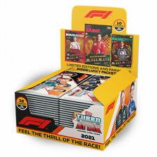 2021 TOPPS FORMULA 1 Turbo Attax карты коробка 24 упаковок в коробке (10 карт в упаковке)