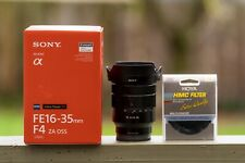 GOOD CONDITION Sony 16-35mm F4 Zeiss Lens with Free ND8 Filter