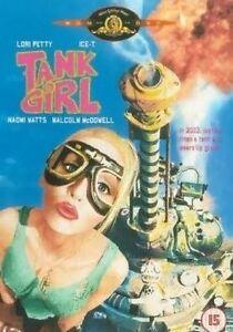 Tank Girl DVD LORI PETTY NAOMI WATTS Cult Classic Steampunk COMIC BOOK FANTASY