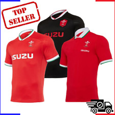 Wales Rugby Jersey Gallois Shirt Maillot 20-21 Adulte Rugby jerseys S-2XL Galles