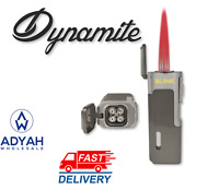 Blink Dynamite Quad Flame Torch Cigar Lighter Butane Refillable W/ Cigar Punch