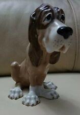 Vintage Szeiler Sitting Bloodhound Dog Figurine Ornament