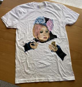 (Rare) Cyndi Lauper On Tour 2016 Authentic Concert T Shirt Size S (Never Worn)