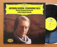 DG 2531 046 Dvorak Symphony no 8 Giulini Chicago Symphony NEAR MINT West Germany