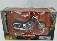 FXDL Dyna Low Rider 1999 Harley Davidson  MAISTO 1/18 SERIES 7 Collectible Toy