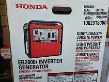 Honda EB2800i 120V 2800W Portable Inverter Generator