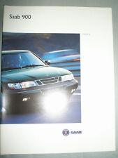 SAAB 900 BROCHURE GAMMA 1994 mercato USA Versione 2