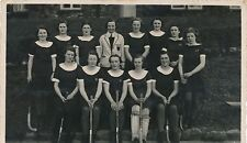 Original Postcard  RP Keswick school hockey team 1938   17