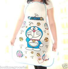Japan anime Doraemon Cute cartoon cat Waterproof and oil kitchen apron New Style