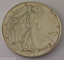 USA 1 Dollar - American Eagle Silbermünze 1987 1oz. 1 Unze 999/1000 Fine Silver