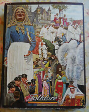 ANCIEN ALBUM CHROMOS CHOCOLAT COTE D'OR FOLKLORE AVEC 116 CHROMOS SUR 125