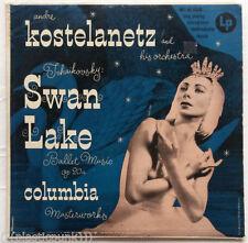 Tchaikovsky Andre Kostelanetz Swan Lake Ballet Music LP Sexy Nora Kaye Cover