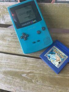 Vintage Game Boy Color Con Pokekon Blu Ottimo!