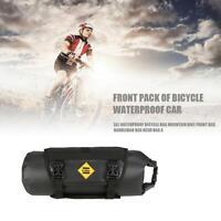 B SOUL Waterproof Bike Front Tube Bag Handlebar Basket Pack Bicycle Frame Pocket