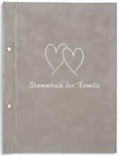 A4 Stammbuch der Familie -Randi-, grau, Familienstammbuch, Stammbücher, DIN A4