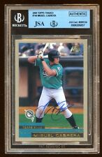 MIGUEL CABRERA 2000 TOPPS TRADED RC AUTOGRAPH AUTO ROOKIE  #T40  FUTURE HOF ?