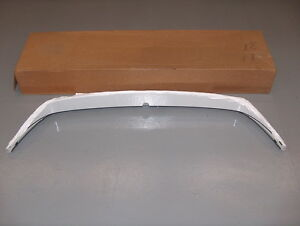 2012-2015 Chevy Sonic GM NOS Rear Air Deflector Spoiler Olympic White