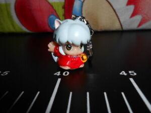 🎌 Inuyasha Chibi Character Figure Key Chain Bandai Banpresto Deformed Japan 🎌