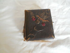 Antique photo album w/40 card photos & 2 tintypes mid to late 1800's
