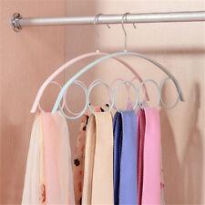 Shawl Scarf Hanger Belt Tie 5 Ring Rack Organizer Holder Hook Display HangerODIR