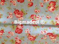 Ikea Cath Kidston Rosali BLUE FLORAL Cotton fabric material
