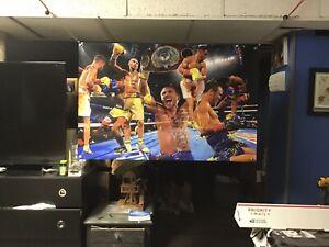 HUGE! 44x29 VASYL LOMACHENKO vinyl Banner Poster Mike Tyson Boxing art NEW ggg