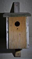 Vogel-Nistkasten, Brutkasten aus wetterfestem Massivholz 1,7 cm dick Unbenutzt.