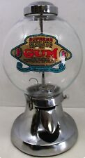 Superior Chrome Bulk Vending Candy Gumball Machine Circa 1930's