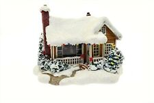 Thomas Kinkade Lighted House Cottage - Childhood Home 5.5""