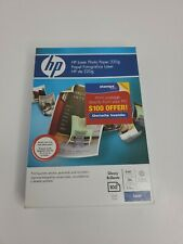 HP Q8842A  LASER Photo Paper - Glossy 4 x 6  (100 Sheets) - SEALED!