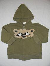 Crazy 8 Raccoon Google Eye Hoodie Sweatshirt Size 3