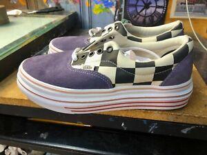 Vans Super Comfycush Era Purple Velvet Platform  Size US  Women's 9.5 (8 Men's)