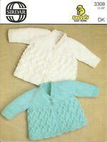 Sirdar 3308 Baby Knitting Patten Dk