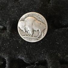 OLD BUFFALO Nickel / Indian Head Nickel Tie Tack Tie Pin Authentic Coin !