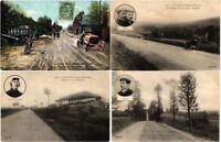AUTOMOBILES CARS FRANCE CIRCUIT DE LA SEINE-INFÉRIEURE 16 Vintage Postcards